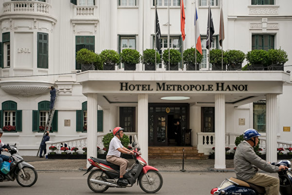 河內索菲特傳奇大都會酒店。(Linh Pham/Getty Images)
