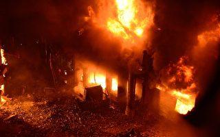 孟加拉首都公寓大火 至少110人葬身火海