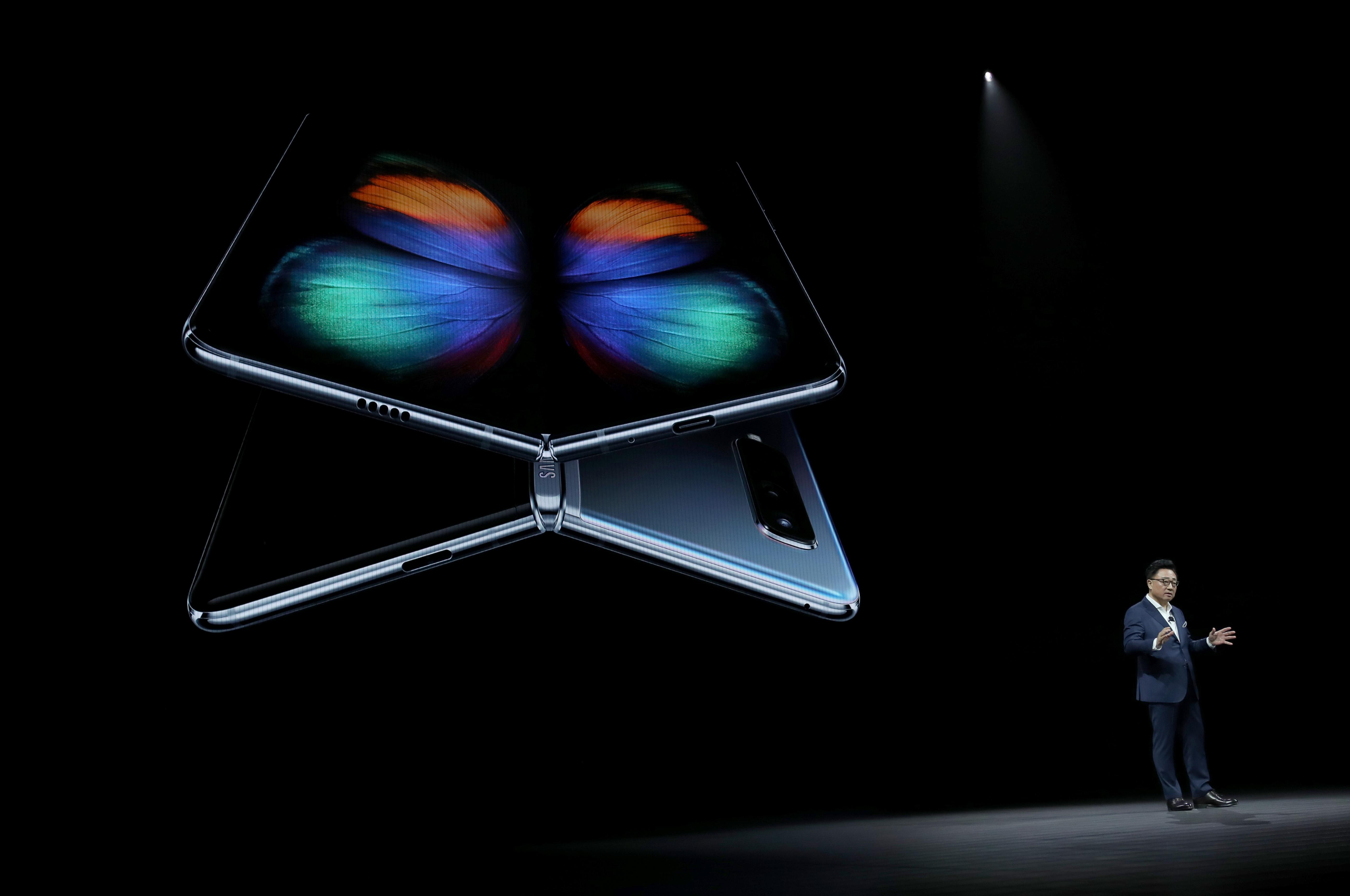 三星發佈Galaxy S10系列 折疊屏手機亮相