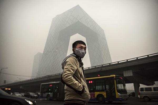 北京等38城市遭遇重污染天氣 將持續三天