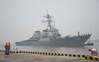 实现印太航行自由 美两军舰再通过台湾海峡