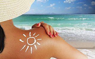皮肤图章提醒人们使用防晒霜