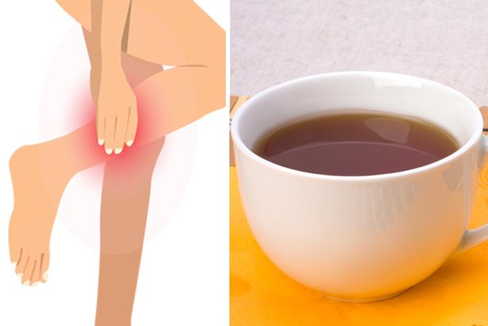 在中醫看來,抽筋原因多是因為氣血不能濡養筋肉,可通過茶飲調養。(Shutterstock/大紀元製圖)