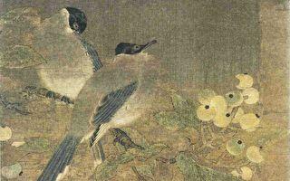 宋佚名《雙鵲枇杷圖》。(公有領域)