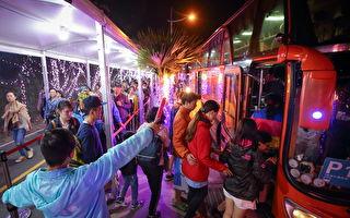 台湾灯会228连假人潮  屏县府公布最新交通措施