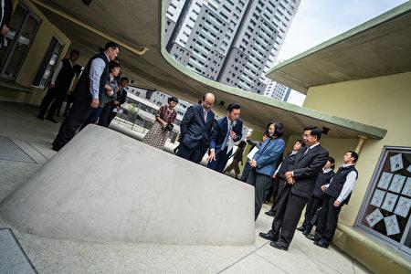 蔡英文总统访竹市关埔国小