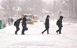 多伦多极寒天气警报今天中午解除