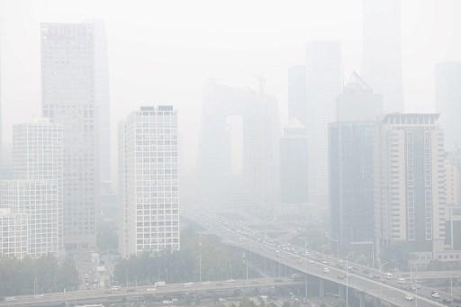 北京全市陷重度阴霾天气 重污染将持续三天
