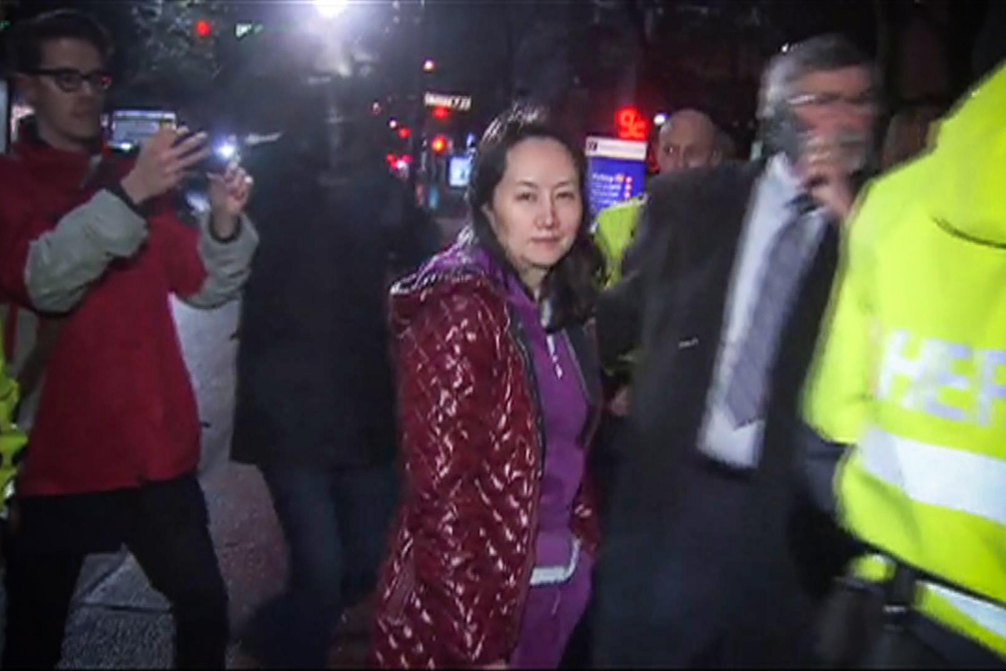 孟晚舟被美控4罪面臨引渡 她說了哪些謊