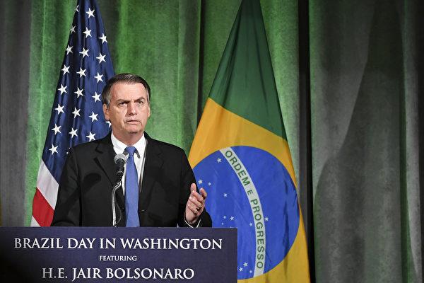 巴西总统带团访美 美国警告小心华为