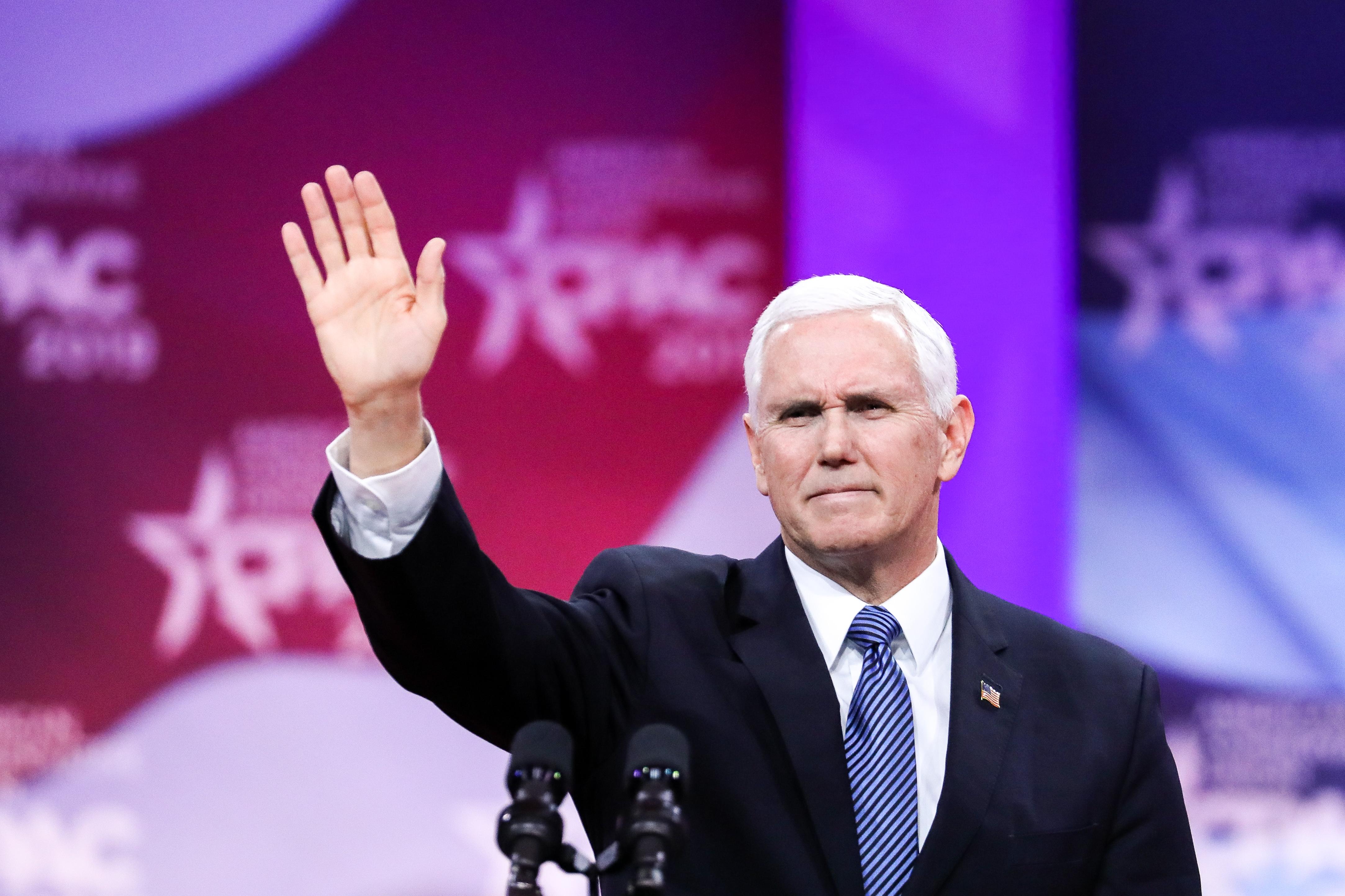 美保守派大會人數創紀錄 彭斯稱不搞社會主義