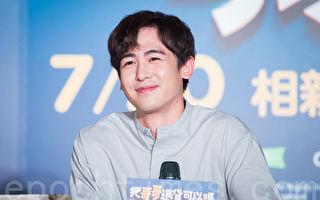 韓國人氣男團2PM成員Nichkhun(尼坤)訪台資料照。(陳柏州/大紀元)