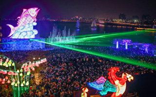 台湾灯会吸1339万人次 县长:屏东做到了
