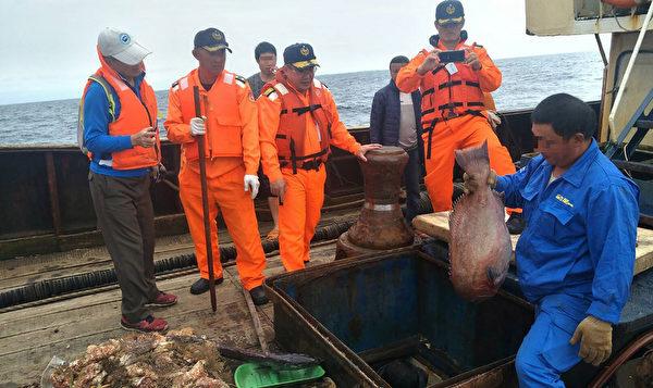 陆渔船越界捕鱼 𫚉鱼软珊瑚都遭捕捞