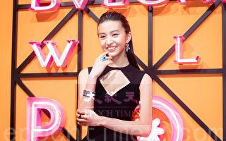 木村光希配戴千万珠宝 流利英语展现名模架式