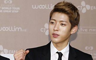 韓國男團INFINITE成員李成烈資料照。(Starnews/AFP/Getty Images)