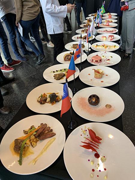 法國廚藝競賽 台灣學生獲最佳甜點獎