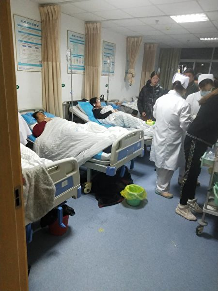 3月21日14時許,位於江蘇鹽城市響水縣陳家港鎮江蘇天嘉宜化工有限公司發生大爆炸,現場影片慘烈,傷亡慘重。(受訪者提供)