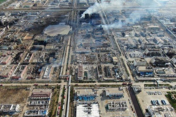 江蘇鹽城大爆炸 失聯者家屬闖現場尋親