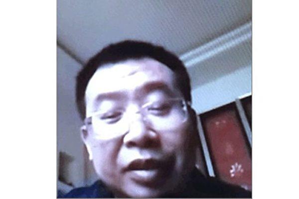 江天勇律师回家仍被软禁 与妻子视频通话