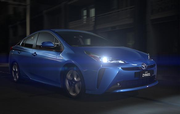 绿色动力 丰田普锐斯Toyota Prius 2019
