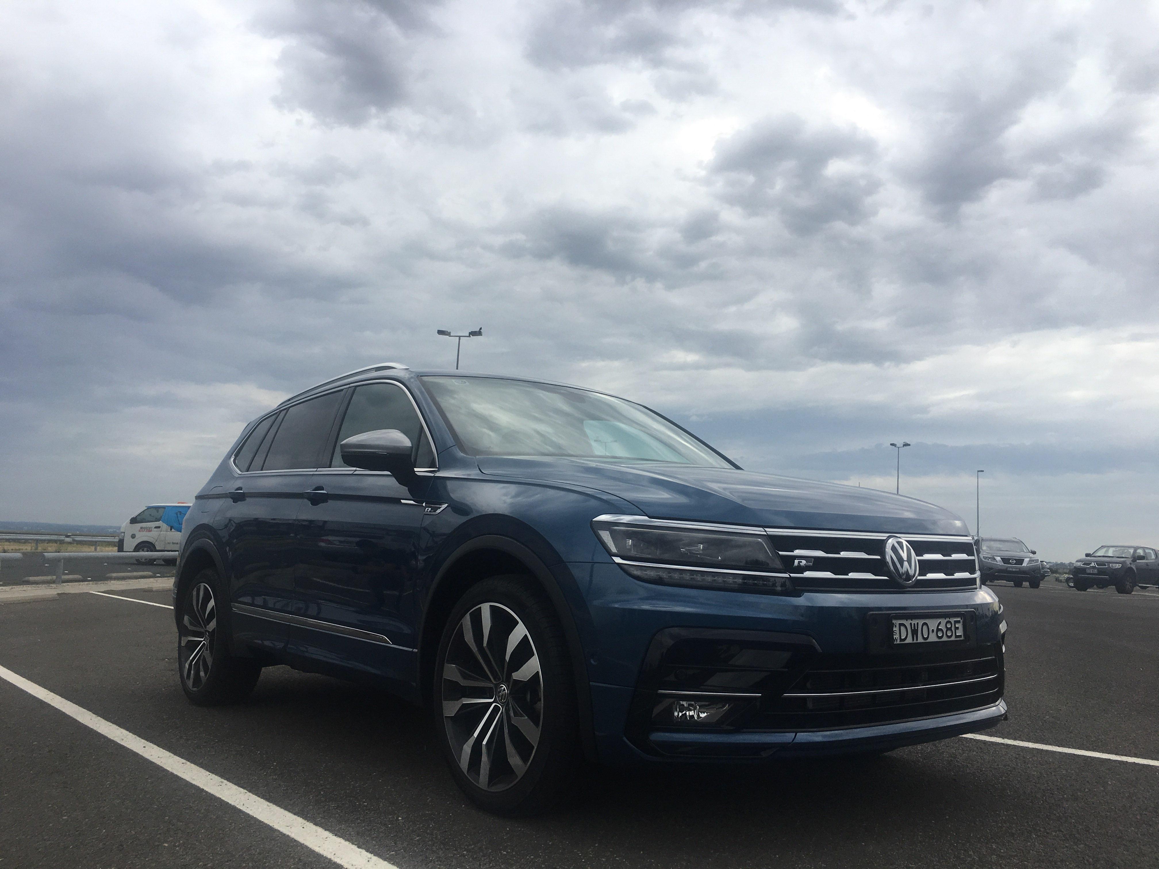 澳洲試駕大眾VW Tiguan Allspace 2019