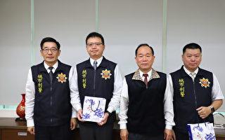 桃市警局长陈国进与刑警大队  酒驾零容忍