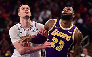 NBA詹姆斯慘遭再見火鍋 尼克斯氣走湖人