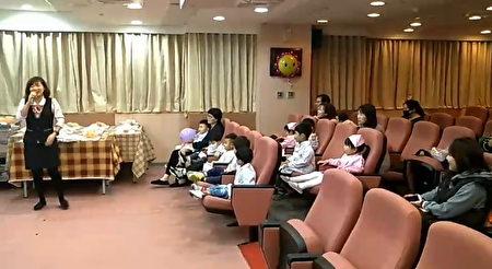 安排觀賞胎兒超音波影片。(徐乃義/大紀元)