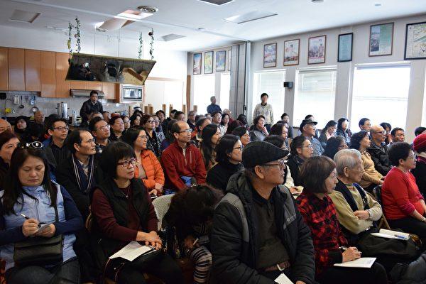 溫哥華合家歡舉辦講座,孫光芬會計師為大家剖析投機稅和空置稅,深受現場聽眾歡迎