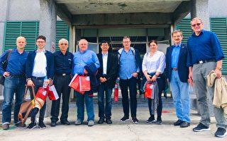 德國國會友台小組參訪綠島人權紀念園區