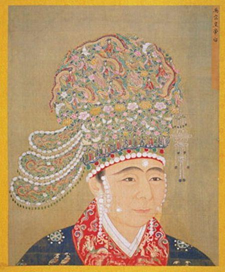 宋英宗高皇后像,出自《宋代后半像册》,北京故宫南熏殿旧藏。(公有领域)