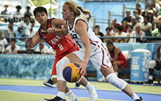 美国女篮界新生代潜力女球员海莉·范·丽思(Hailey Van Lith)在比赛中。(Marcelo Endelli/Getty Images)