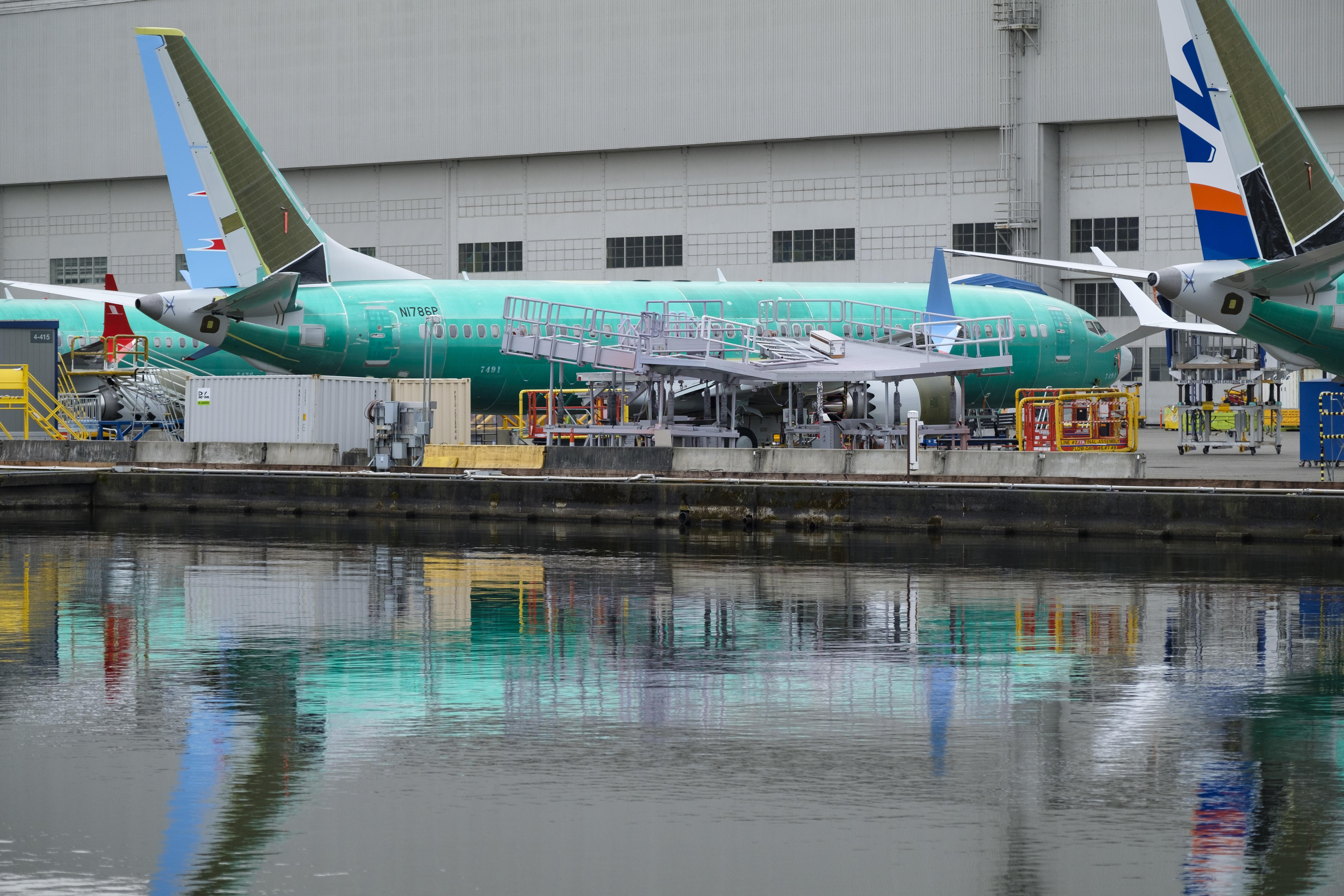 美國《西雅圖時報》(Seattle Times)3月20日引述知情人士的消息說,聯邦調查局(FBI)已介入對波音737 MAX認證過程的刑事調查,其將為美國交通部正在進行的波音調查提供資源。(Stephen Brashear/Getty Images)