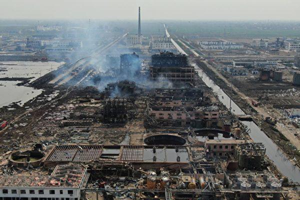 江蘇化工廠爆炸案78人亡  無一人獲死刑