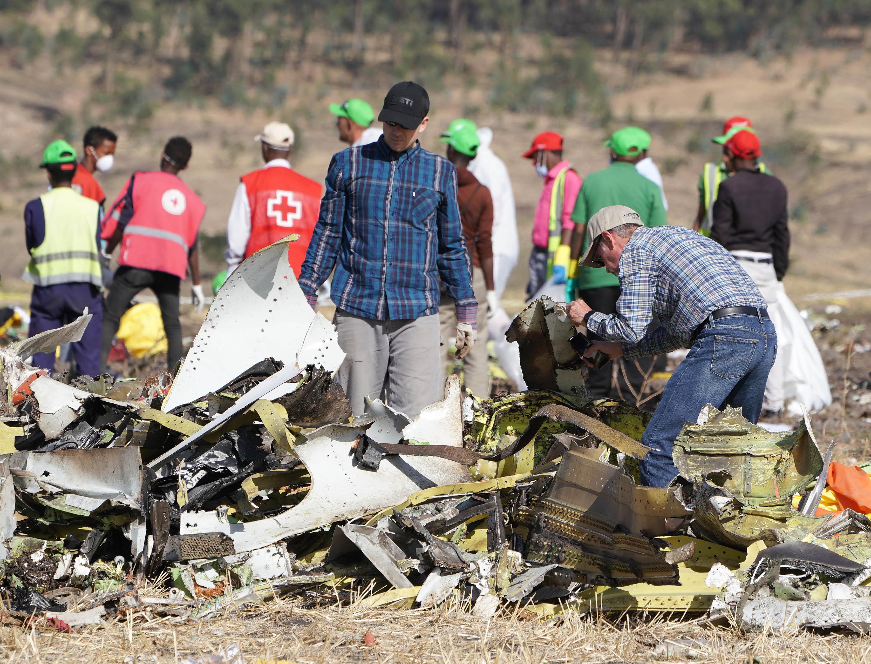 埃塞航空墜亡航班初步調查報告將下周公佈