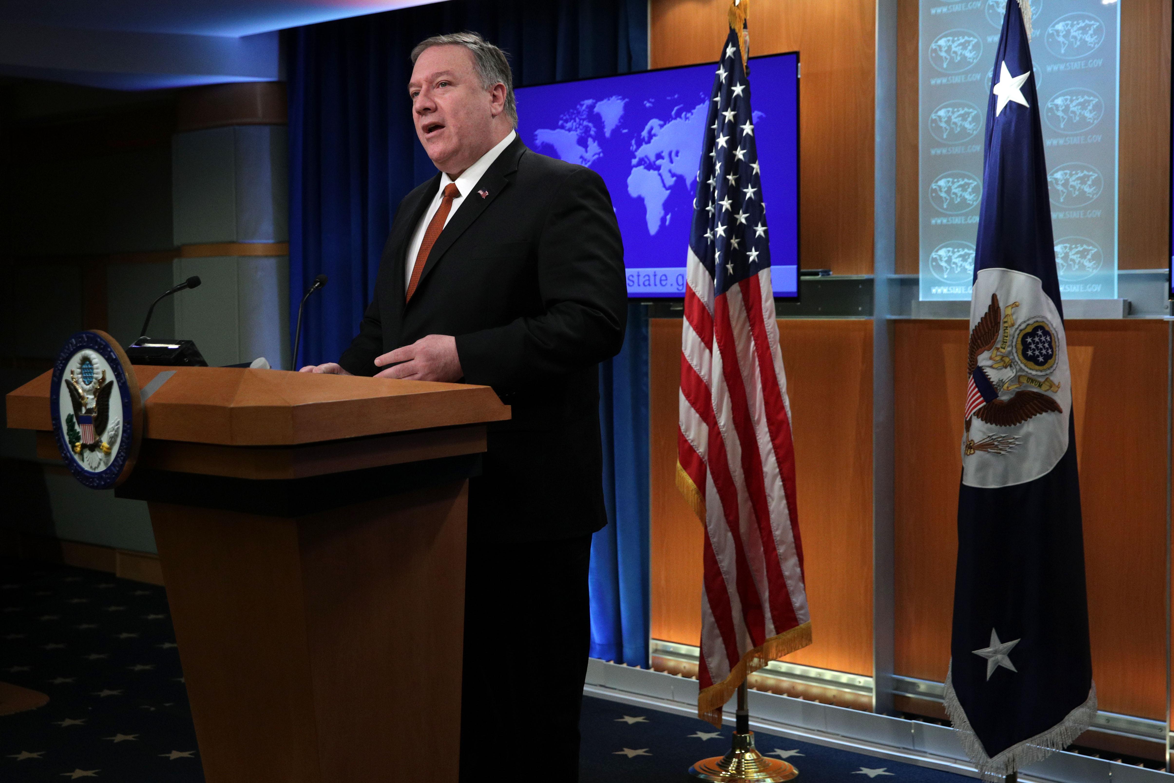 美國務卿:中共迫害人權 無以復加
