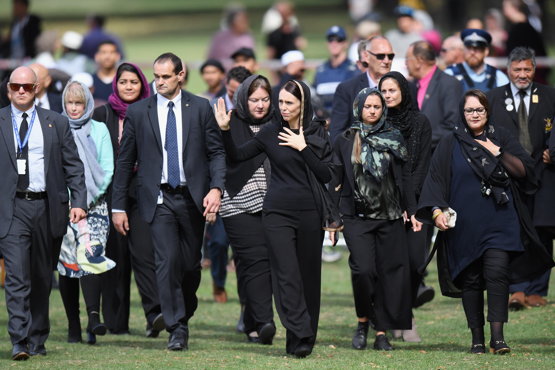 悼念恐襲遇難者 紐西蘭舉國默哀