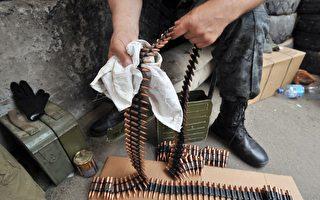 世界最快机枪 每分钟可射出上百万发子弹