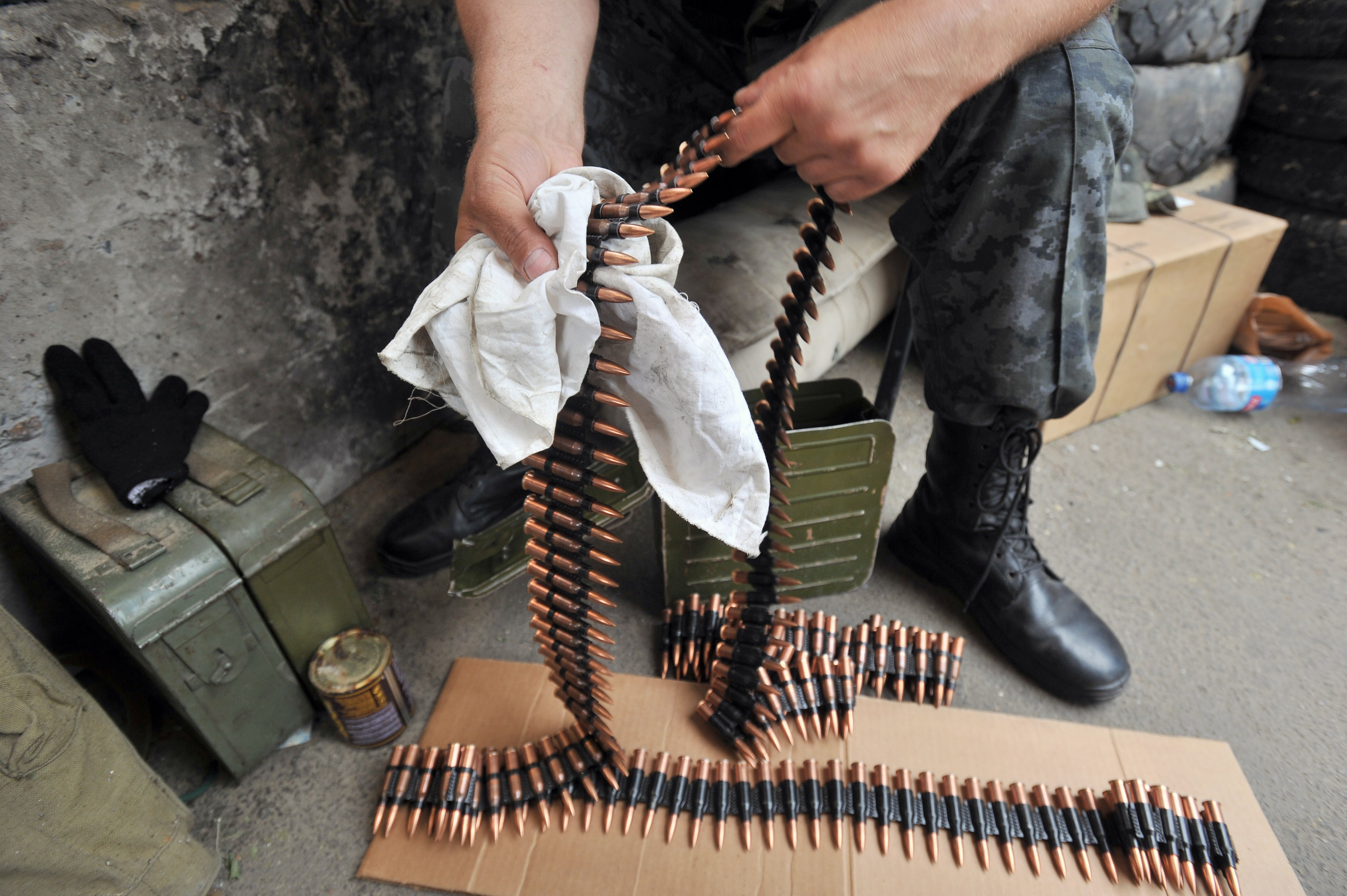 世界最快機槍 每分鐘可射出上百萬發子彈