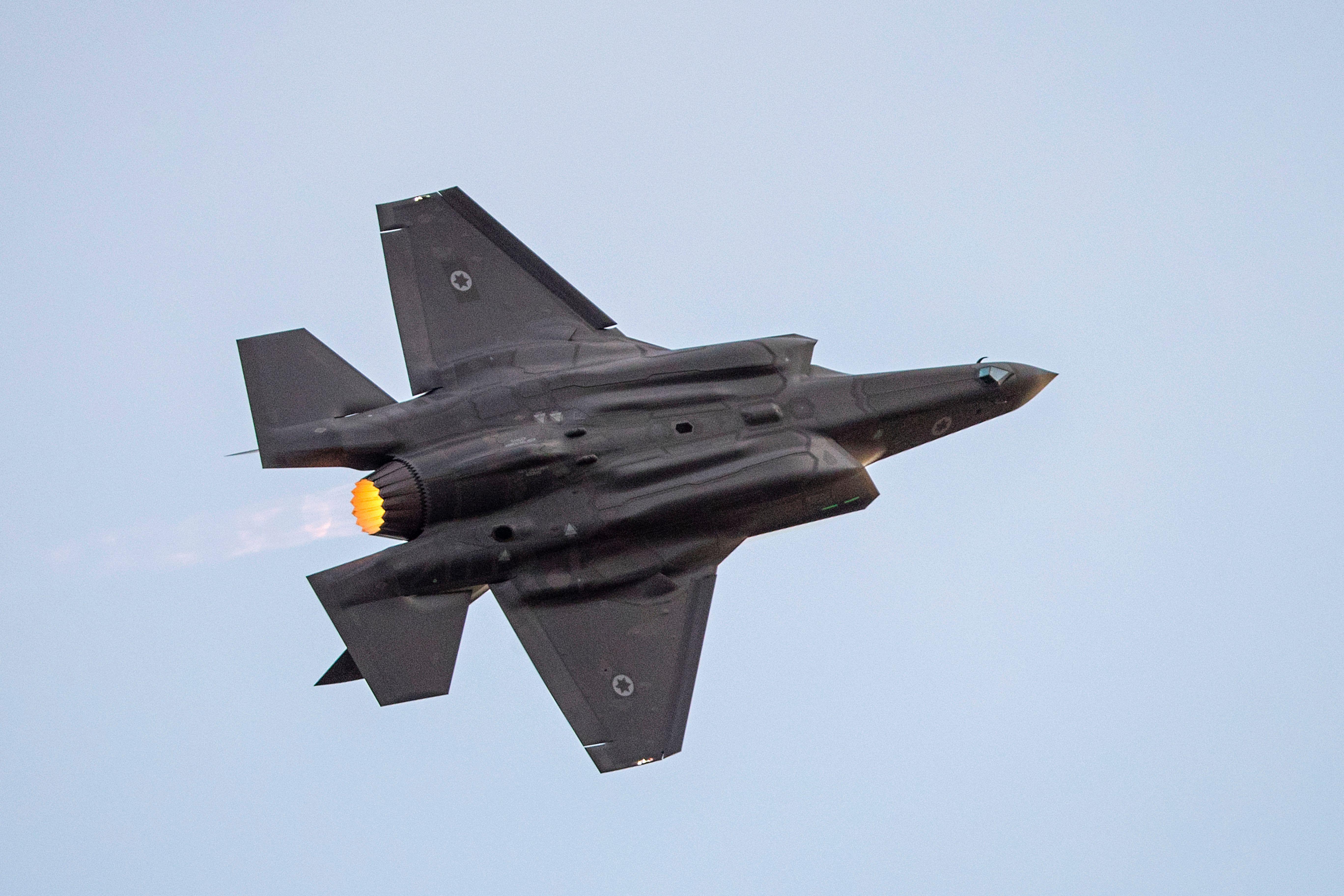 以色列F-35戰機悄入領空 傳伊朗指揮官被炒