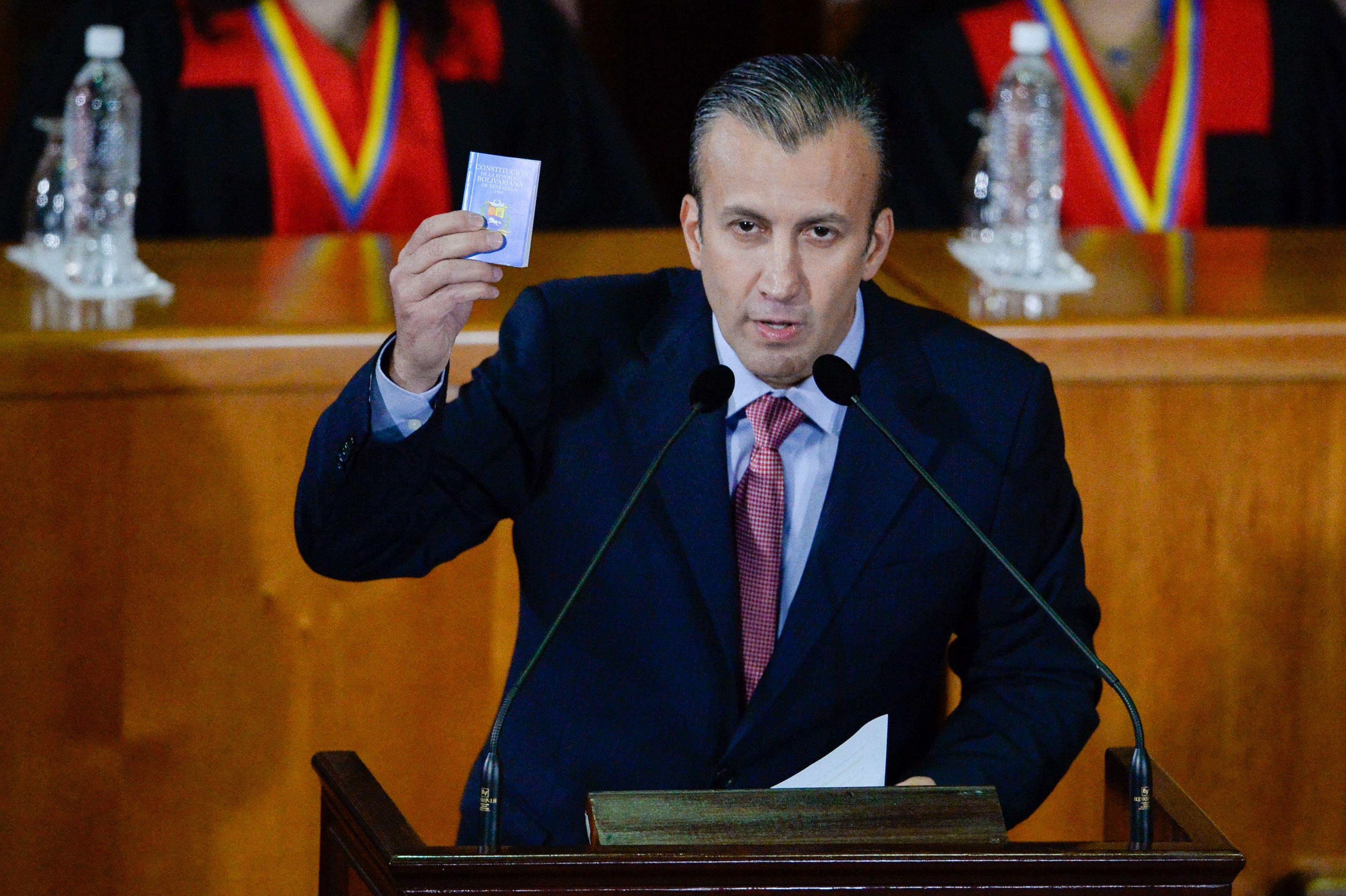 委內瑞拉前副總統違反制裁 美提出刑事指控