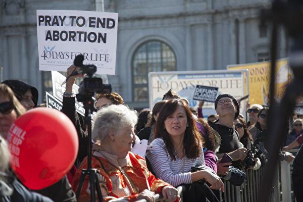 態度大轉變 民調顯示更多美國人反對墮胎