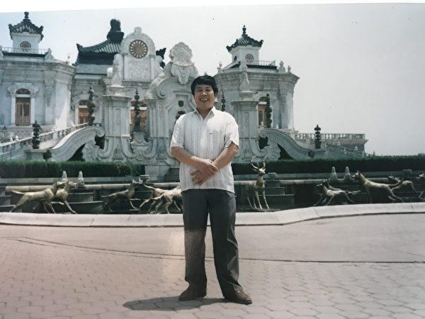 韓雨父親韓俊清的老照片。(韓雨提供)