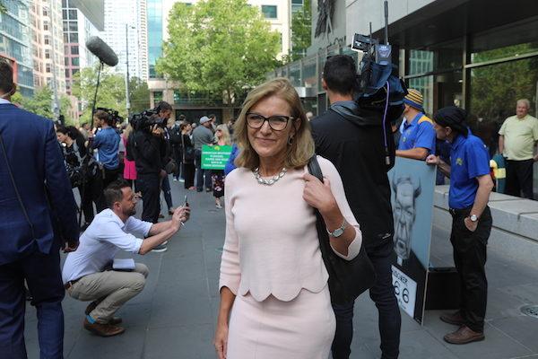 澳洲理性黨(Reason Party)領袖Fiona Patten。(李奕/大紀元)