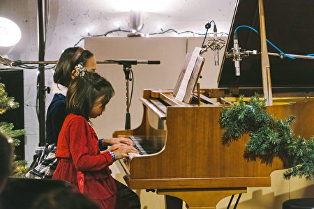Rover Music School金老师的学生都发自内心的喜欢音乐。(Rover Music 提供)