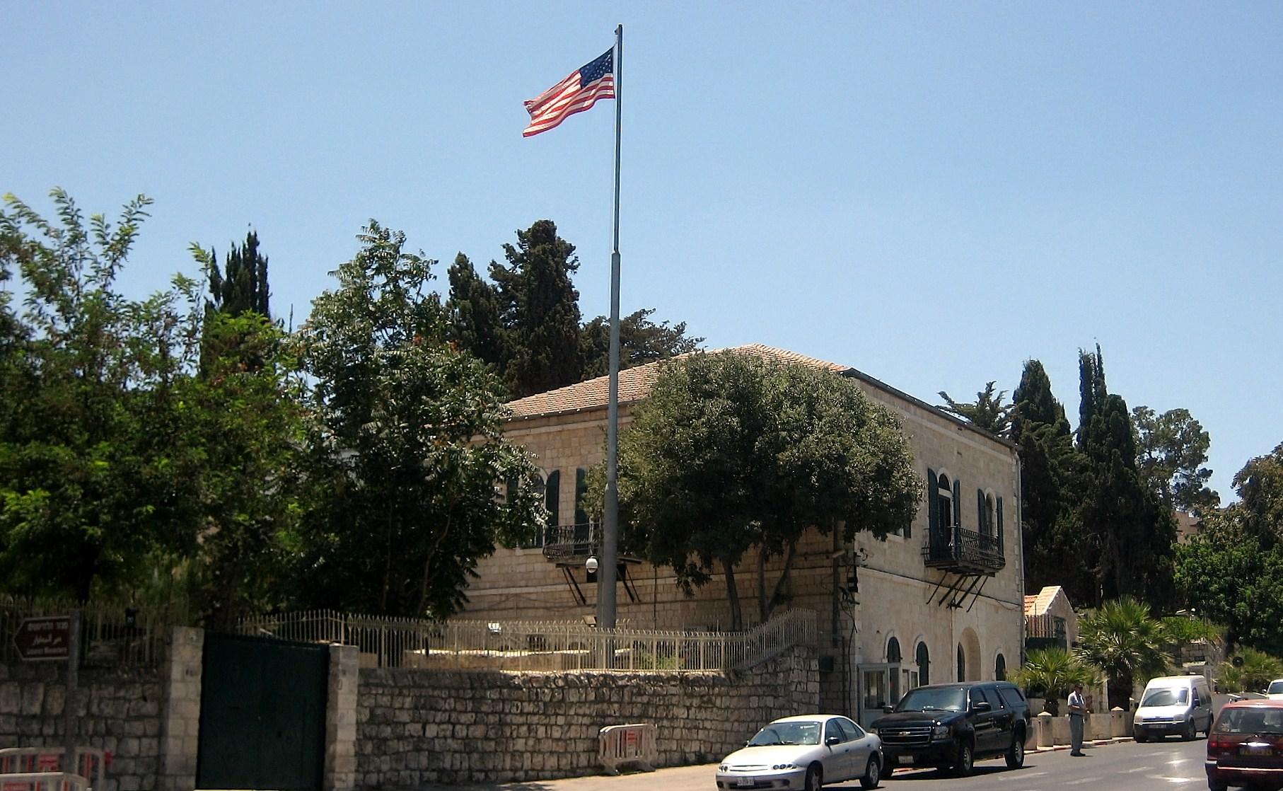 美國駐耶路撒冷領事館降級 併入駐以大使館