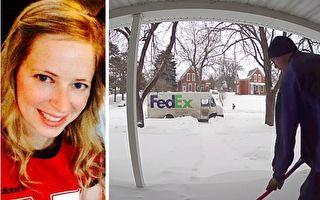 屋主失至亲 FedEx司机默默行善 视频温暖网路