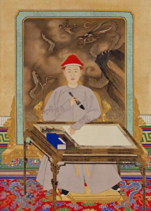 康熙皇帝寫得一手好字 有什麼竅門?
