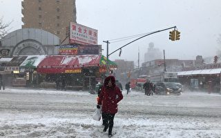 风雪来袭 周一纽约全市停课